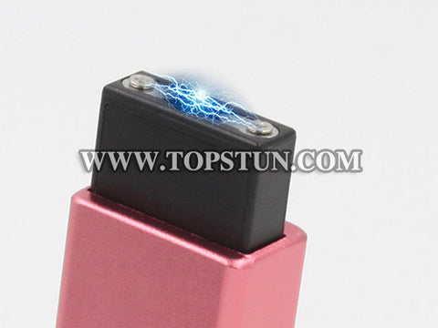 Mini Stun Gun 1502 Rose - 15 Million Volts Key Chainable LED Flashlight Rechargeable
