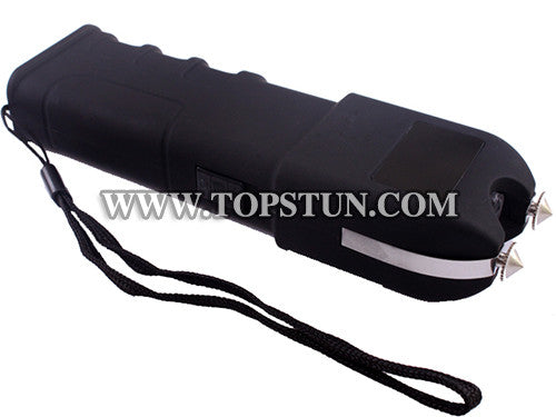 Red Scorpion Heavy Duty Stun Gun 928 - 19 Million Volts Rechargeable LED Flashlight