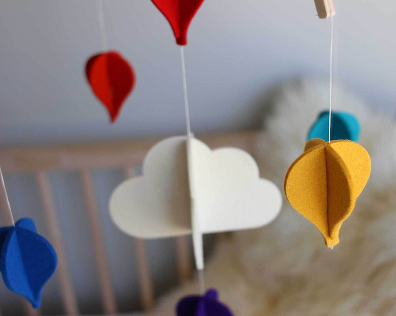 Hot Air Balloon Nursery Mobile - Baby Mobile