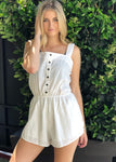 """Linen Dreams"" Romper"