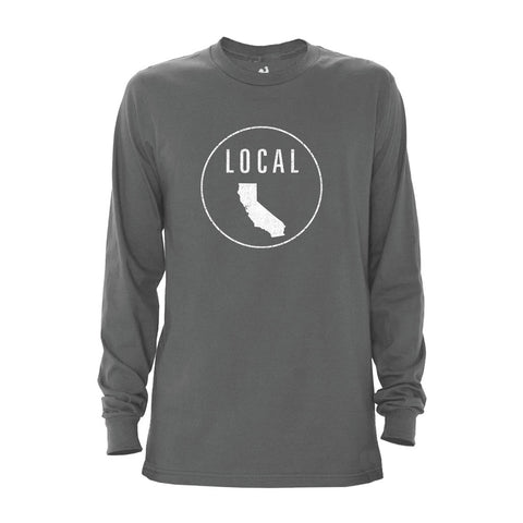 Men's California Local Long Sleeve Crew