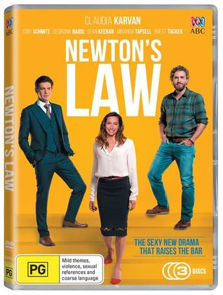 Newton's Law DVD Complete Season 1