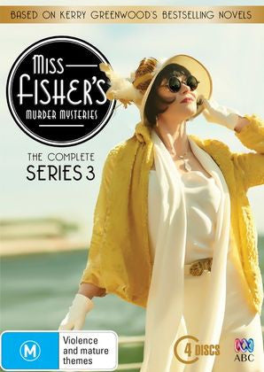 Miss Fisher DVD Complete Series 3