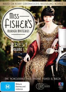 Miss Fisher DVD Series 2 Volume 1