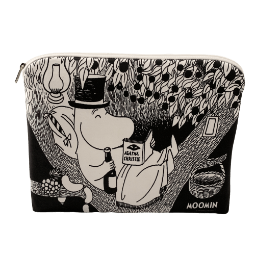 Moominpappa reading in the tree accessory / tablet pouch - Aurora Decorari - The Official Moomin Shop