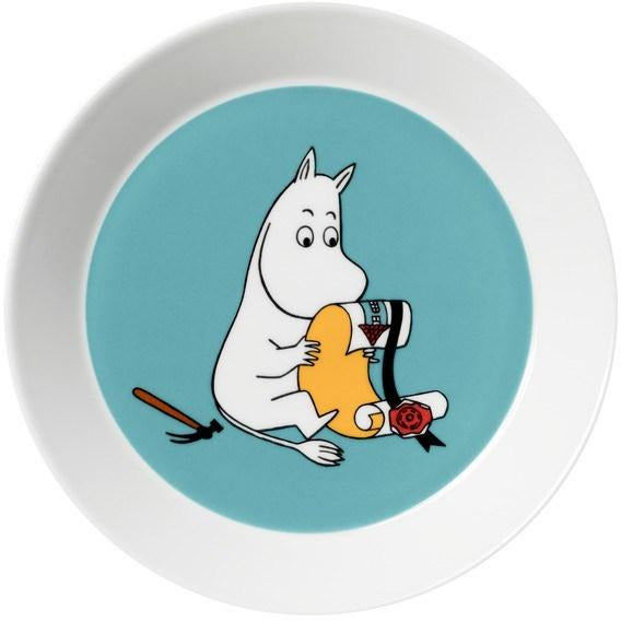 Moomintroll plate by Arabia - The Official Moomin Shop