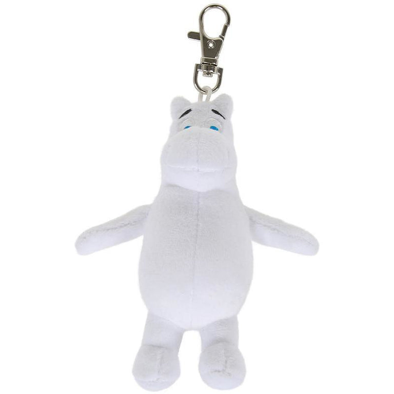 Martinex Moomintroll plush keyring - The Official Moomin Shop