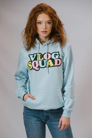 David Dobrik Official Blue Vlog Squad Hoodie