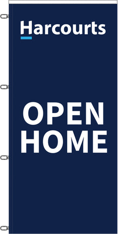 Harcourts Durapole XT Open Home Flag Only
