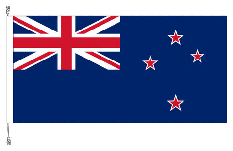 New Zealand Flag - Premium Long Life (Sister Clips). Free Shipping in NZ!
