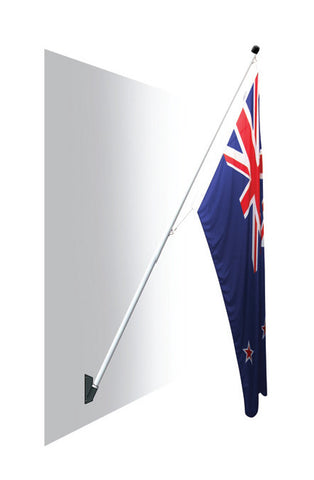 Royal Flag Pole Only.  A durable low cost flag pole ideal for your home or work place!