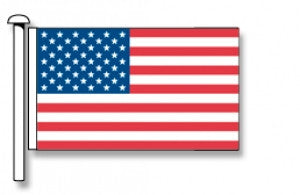USA Flag - Premium (with exclusive Swivel Clips). Free Shipping on NZ!*