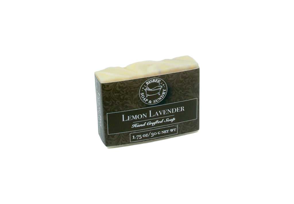 Lemon Lavender Handmade Mini Soap