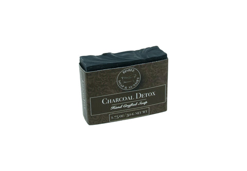 Charcoal Detox Handmade Mini Soap