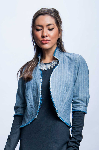 Natalya Jacket - Herringbone