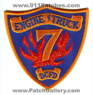 Dekalb County Fire Rescue Department Engine Truck 7 Station Co Patch Georgia GA - SKU65