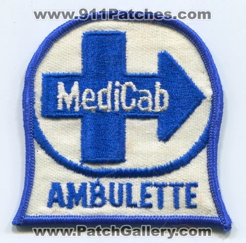 Ambulette MediCab EMS Patch Ohio OH