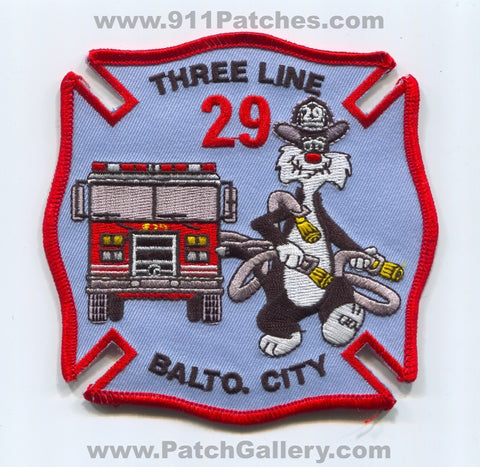 Baltimore City Fire Department Engine 29 Patch Maryland MD