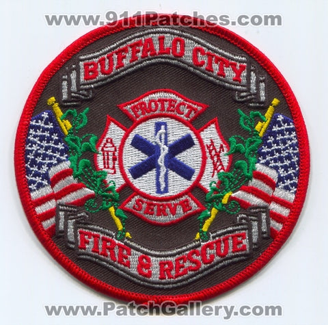 Buffalo City Fire and Rescue Department Patch Missouri MO