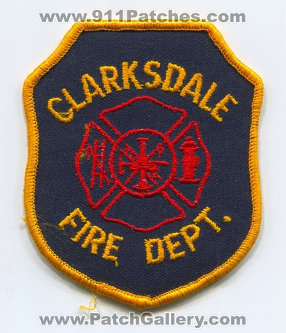 Clarksdale Fire Department Patch Mississippi MS