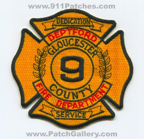 Deptford Fire Department 9 Gloucester County Patch New Jersey NJ