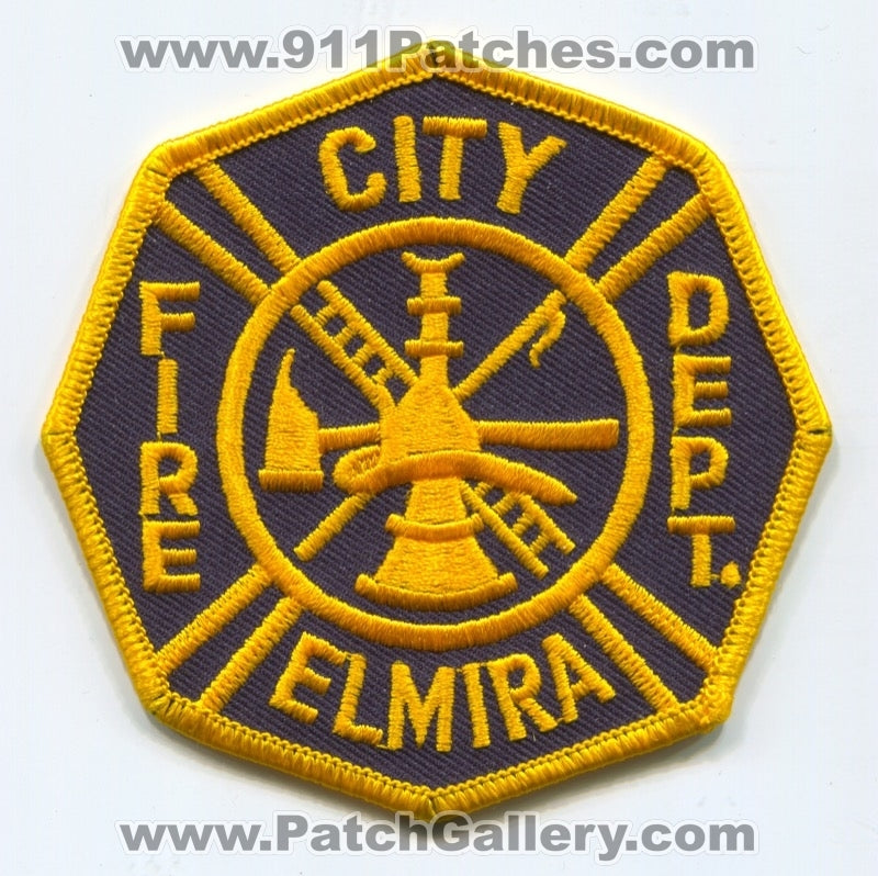 Elmira Fire Department Patch New York NY