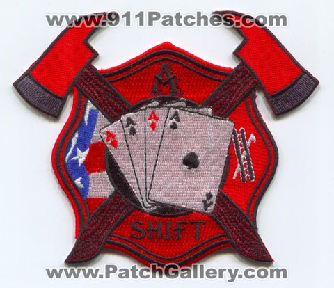 Forest Park Fire Department A Shift Patch Georgia GA