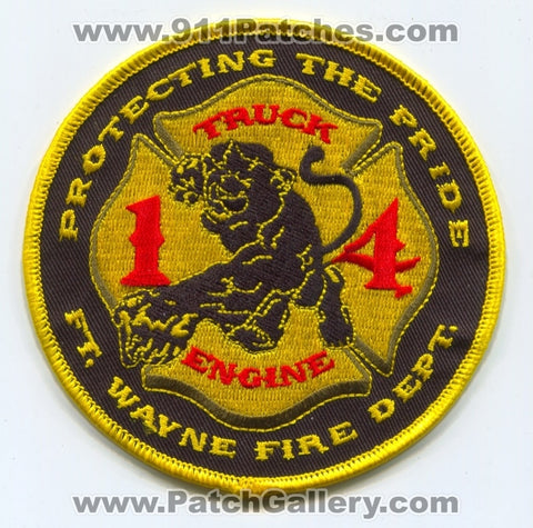 Fort Wayne Fire Department Station 14 Patch Indiana IN