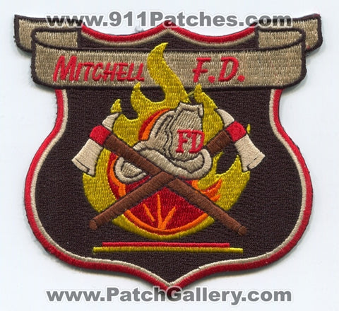 Mitchell Fire Department Patch Mississippi MS