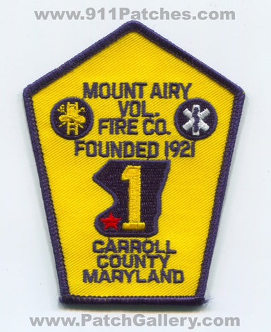 Mount Airy Volunteer Fire Company 1 Carroll County Patch Maryland MD