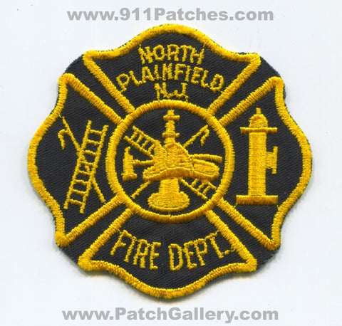 North Plainfield Fire Department Patch New Jersey NJ