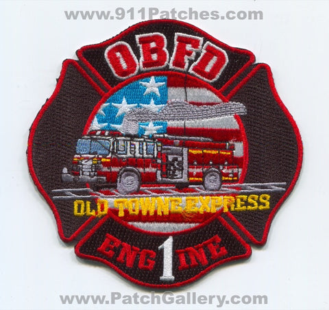 Olive Branch Fire Department Engine 1 Patch Mississippi MS