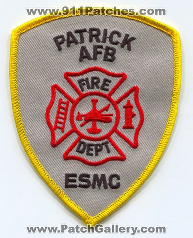 Patrick Air Force Base AFB Fire Department ESMC USAF Military Patch Florida FL