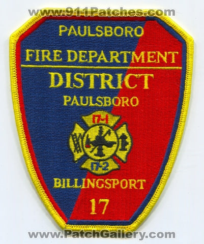 Paulsboro Fire Department District 17 Billingsport Patch New Jersey NJ