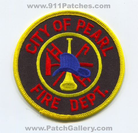 Pearl Fire Department Patch Mississippi MS
