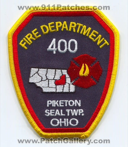 Piketon Seal Township Fire Department 400 Patch Ohio OH