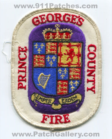 Prince Georges County Fire EMS Department Patch Maryland MD