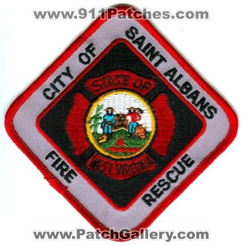 Saint Albans Fire Rescue Department Patch West Virginia WV