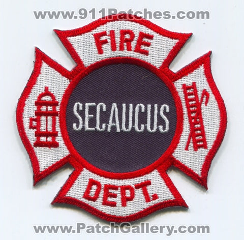 Secaucus Fire Department Patch New Jersey NJ