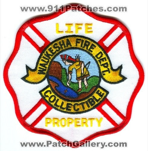Waukesha Fire Department Collectible Patch Wisconsin WI