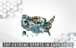 Top Extreme Sports in Each State