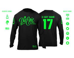 Personalized Die Epic Skydive Jersey