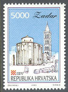 Croatia 120 MNH - Buildings