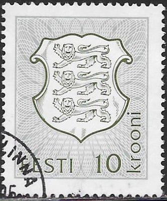 Estonia 215 Used - National Arms