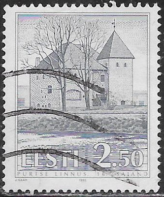 Estonia 247 Used - ‭Haapsalu Castle & Cathedral