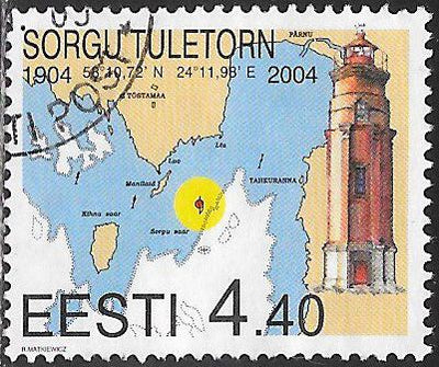 Estonia 481 Used - Lighthouses - Sorgu