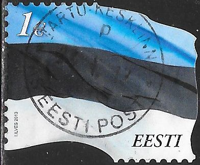 Estonia 724 Used - Flag