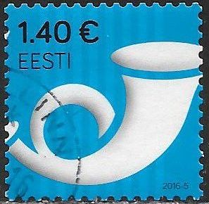 Estonia 806 Used - Posthorn