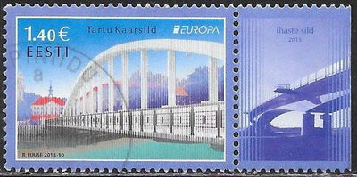 Estonia 867 Used - Europa - Arch Bridge