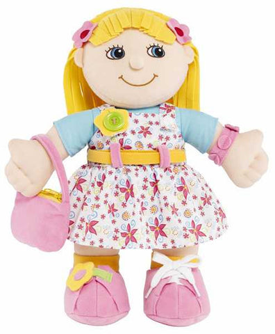 Emily Learn to dress doll - Dress Me Girl Doll